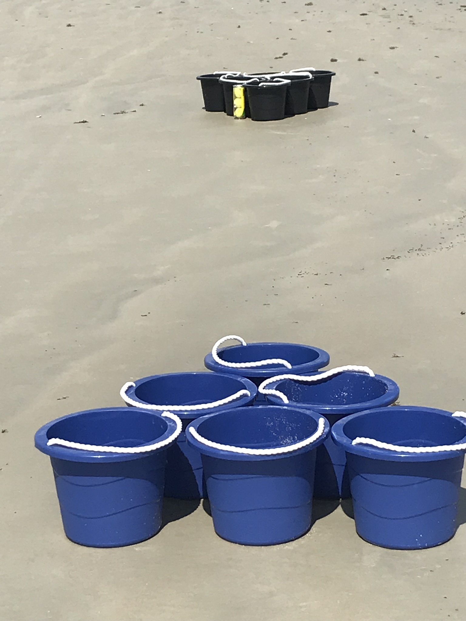 join the summer beach fun in New Smyrna Beach with games
