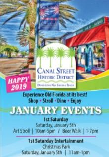 Enjoy First Saturdays on Canal Street