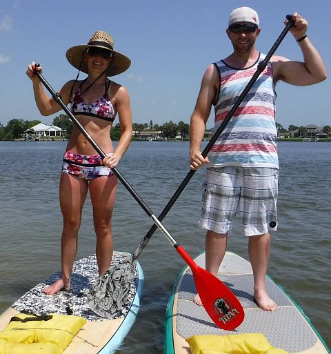 Stand Up Paddling in New Smyrna Beach