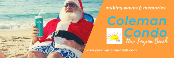 Merry Christmas from Coleman Condo in New Smyrna Beach