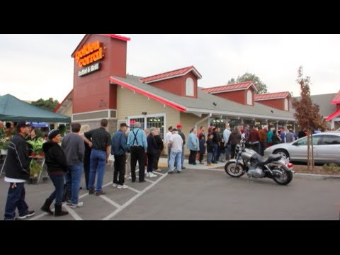 thank you veterans, from New Smyrna Beach, at Golden Corral